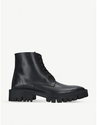 Balenciaga Outdoor Rim leather ankle boots