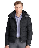 Ralph Lauren Merino-blend Down Jacket