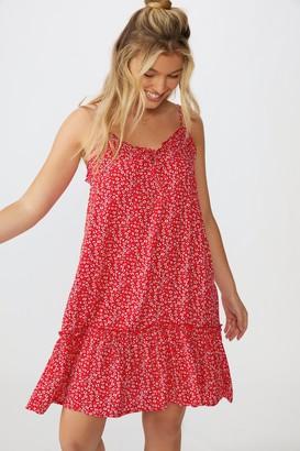 Supre Olivia Tiered Frill Hem Dress