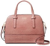 Kate Spade new york River Street Exotic Small Felix Embossed Leather Shoulder Bag