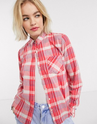 Pepe Jeans Pepe Missy shirt in check