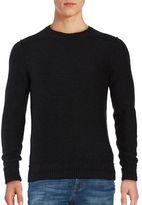 HUGO BOSS Virgin Wool Knit Sweater