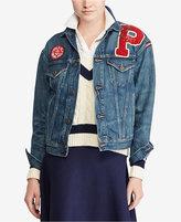 Polo Ralph Lauren Varsity Patchwork Denim Jacket