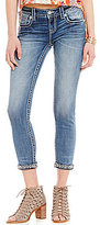 Miss Me Wing Pocket Stretch Ankle Skinny Jeans