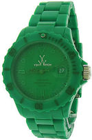 Toy Watch ToyWatch MO05GR Women's Monochrome Green Dial Green Plasteramic