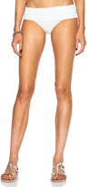 Norma Kamali Super Low Rise Bikini Bill Poly Bottom