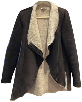 Helmut Lang Brown Suede Coats
