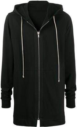 Rick Owens mid-length hoodie
