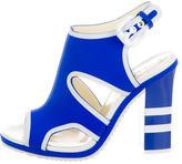 Pollini Matte Scuba Sandals w/ Tags