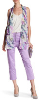 Grayse Ankle Side Zip Cropped Pant