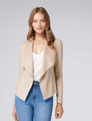 Ever New Leah PU Waterfall Jacket