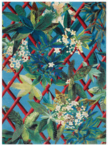 Christian Lacroix Canopy Turquoise Rug - 170x230cm
