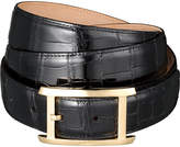 Cartier Porosus crocodile-leather buckle belt