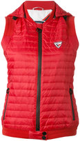 Rossignol Nadine hooded gilet - women - Polyamide/Feather Down/Polyester - 36
