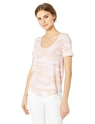 Lucky Brand Women's Sketched CAMO TEE
