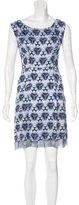 Acne Studios Digital Print Mini Dress