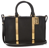 Sophie Hulme Charlton medium leather bowling bag