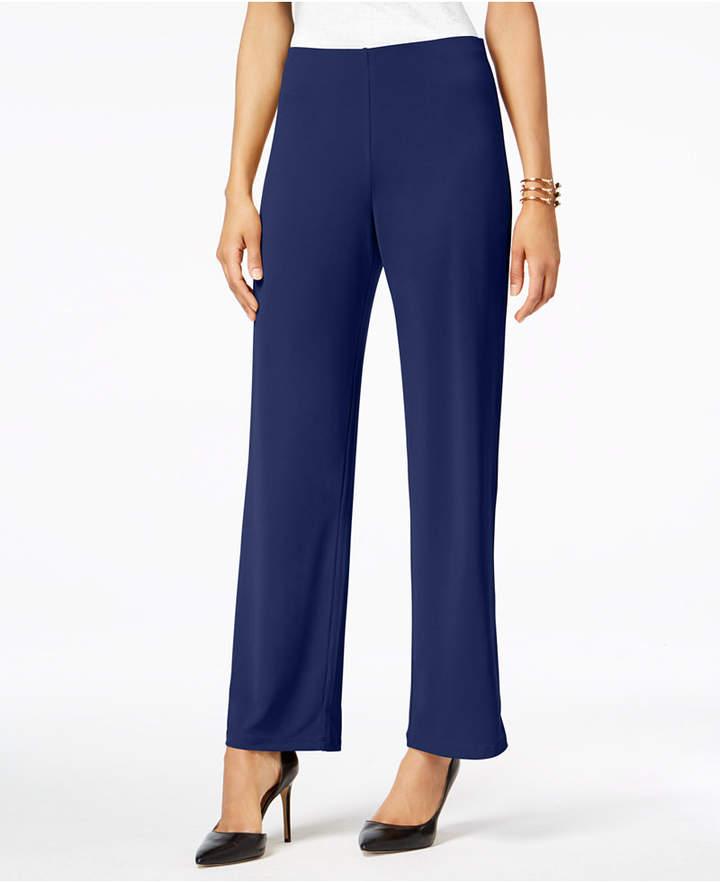 Alfani Knit Wide-Leg Pant