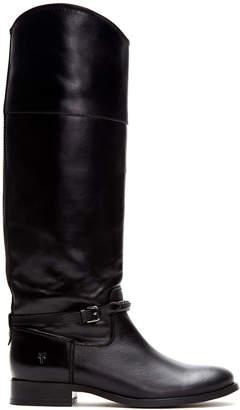 Frye Women's Casual boots BLACK - Black Melissa Seam Tall Leather Boot - Women