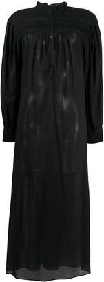 Etoile Isabel Marant High-Neck Shirt Dress