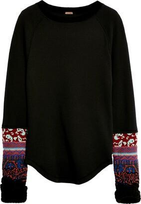 Free People In the Mix Cuffed Sweater