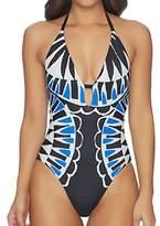 Ella Moss Women's Moonlight Tribe Soft Cup One Piece Swimsuit