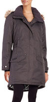 Columbia Faux Fur-Trimmed Omni-Heat Down Coat