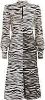 A.L.C. Kennedy Tiger-Printed Shift Dress