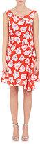 Nina Ricci WOMEN'S ROSE-PRINT SILK DRESS