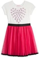 Design History Girls' Knit Bodice Tutu Dress - Sizes 2-6X