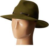 BCBGMAXAZRIA Whipstitch Panama Hat