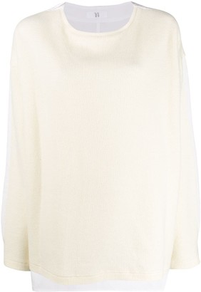 Y's Micro Ribbed Jumper