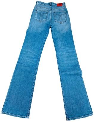 Fiorucci Blue Cotton - elasthane Jeans for Women