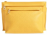 Loewe Embossed Crossbody Pouch - Yellow