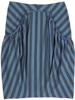 McQ Striped jersey skirt
