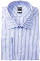 Ike Behar Long Sleeve Striped Dress Shirt