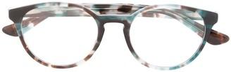 Ray-Ban Tortoiseshell Round-Frame Glasses