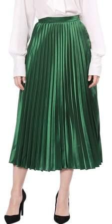 442fea9b3a Accordion Pleated A-line Skirt - ShopStyle