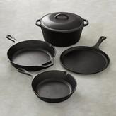 Lodge Cast Iron 5-Piece Cookware Set