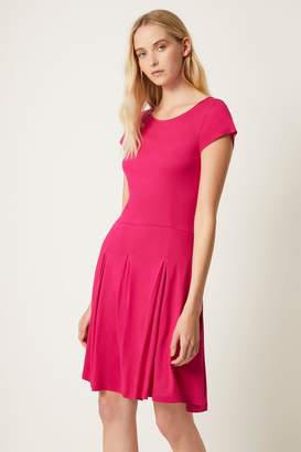 French Connection Womens Pink Meadow Fit And Flare Dress - Pink
