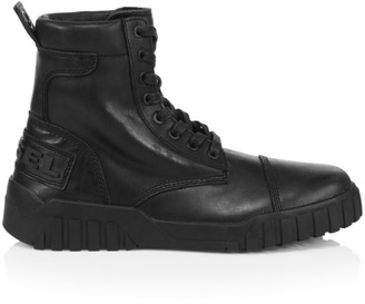 Diesel Le Rua Leather Boots