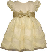 Bonnie Jean Chevron Bow Dress - Baby Girls newborn-24m