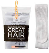 Aquis LISSE LUXE Hair Lisse Luxe Cloudy Berry Bundle Plus Headband - Feelunique Exclusive
