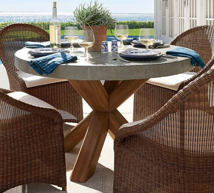 pottery barn outdoor tables shopstyle rh shopstyle com