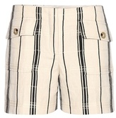 Tory Burch Edna Striped Shorts