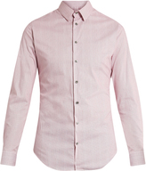 Giorgio Armani Micro-striped cotton shirt