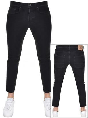 PRPS Windsor Crop Jeans Black