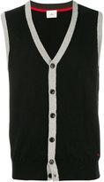 Peuterey v-neck sleeveless cardigan