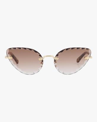 Chloé Rosie Cat-Eye Sunglasses