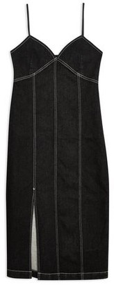Topshop Knee-length dress